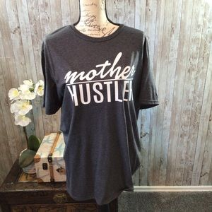 Mother Hustler Screen Print Shirt Size Large